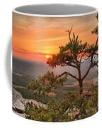 Moore's Knob Sunset Coffee Mug