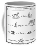Mother Goose, 1849 Coffee Mug