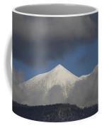 Mt Humphreys Covered In Snow Coffee Mug
