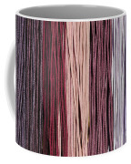 Multi-colored Striped Fabrics Coffee Mug