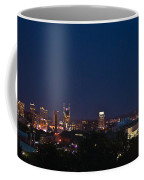 Nashville By Night Coffee Mug
