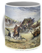 Native American Attack On Coach Coffee Mug