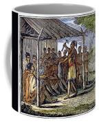 Native American Council, C1835 Coffee Mug