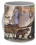 New York: Rag-picker, 1870 Coffee Mug