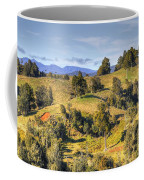 New Zealand Coffee Mug by Les Cunliffe