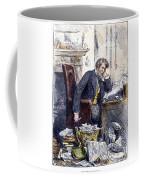 Newspaper Editor, 1880 Coffee Mug
