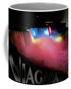 Niagara Falls Postcard Coffee Mug