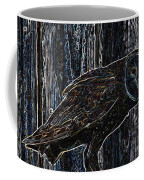 Night Owl - Digital Art Coffee Mug
