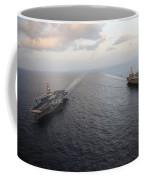 Nimitz-class Aircraft Carriers Transit Coffee Mug