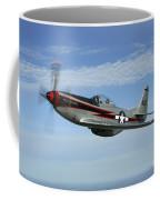 North American P-51 Cavalier Mustang Coffee Mug
