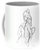 Nude Male Sketches 3 Coffee Mug