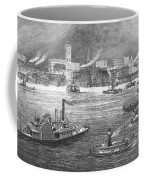 Nyc: The Battery, 1884 Coffee Mug