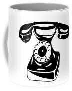 Old Analogue Phone Coffee Mug