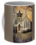 Old Church Coffee Mug by Jill Battaglia