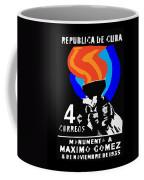 old Cuban postage stamp Coffee Mug