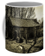 Old Fashioned Shed Coffee Mug by Dawn OConnor