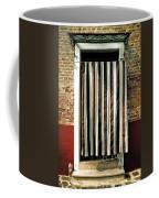 Old Italian Door Coffee Mug by Joana Kruse