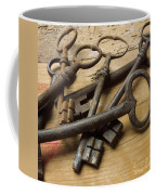 Old Keys Coffee Mug