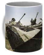 Old Russian Bmp-1 Infantry Fighting Coffee Mug