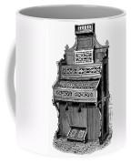 Organ, 19th Century Coffee Mug