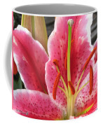 Oriental Lily Named La Mancha Coffee Mug