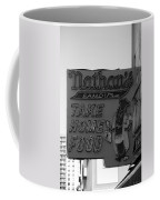 Original Nathan's In Black And White Coffee Mug