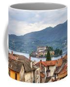 Orta - Overlooking The Island Of San Giulio Coffee Mug