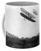 Orville Wright In Wright Flyer, 1908 Coffee Mug