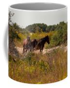 Outer Banks Horses Coffee Mug