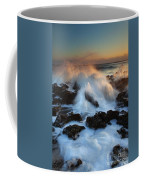 Over The Rocks Coffee Mug by Mike  Dawson