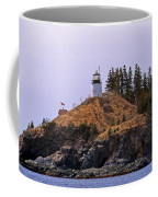 Owls Head Lighthouse Coffee Mug by Skip Willits