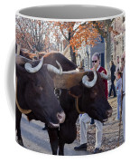 Oxen And Handler Coffee Mug