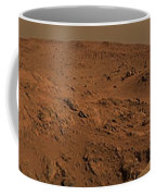 Panoramic View Of Mars Coffee Mug