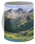 Panoramic View Over Mountain Coffee Mug