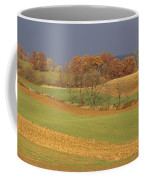 Pastoral View Of Rolling Fields Coffee Mug