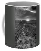 Path To The Sun   Black And White Coffee Mug