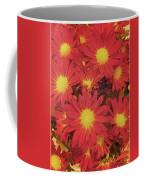Patterned Petels Coffee Mug
