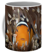 Percula Clownfish In Its Host Anemone Coffee Mug