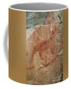 Petroglyph At Agawa Rock Coffee Mug