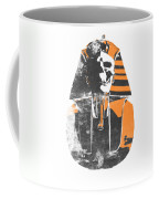 Pharaoh Stencil  Coffee Mug by Pixel  Chimp