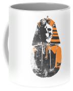 Pharaoh Stencil  Coffee Mug