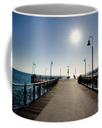 Pier In Backlight Coffee Mug