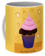 Pink Frosted Cupcake Coffee Mug