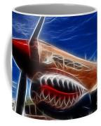 Plane Flying Tigers Coffee Mug