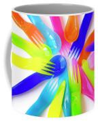Plastic Cutlery Coffee Mug