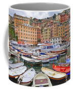 Port Of Camogli Coffee Mug by Joana Kruse