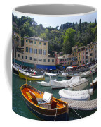 Portofino In The Italian Riviera In Liguria Italy Coffee Mug by David Smith