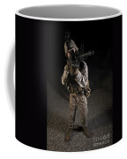 Portrait Of A U.s. Marine In Northern Coffee Mug