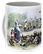 Poultry Yard, 1847 Coffee Mug