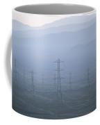 Power Lines Transport Electricity Coffee Mug